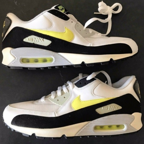 Nike Shoes | Air Max 90 White Hot Lime Size 13 | Poshmark
